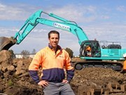 Califam selects new Kobelco SK500LC-9 for pipeline business