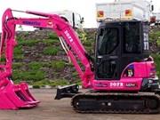 Tassie contractor goes pink in October
