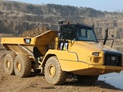 Cat rolls out C series articulated dump trucks