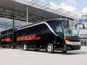 Mercedes-Benz Setra converted into mobile hotel