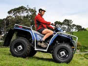 Review: Polaris Sportsman 400 H.O. ATV
