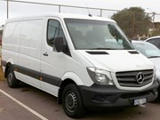 Mercedes-Benz looks at electric Sprinter vans