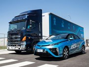 Hino and Toyota team-up on mobile hydrogen solution