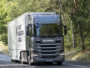 Scania doubles up on Green Truck Award