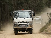 Hino, Fuso on display at Emergency event