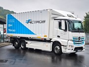 Mercedes-Benz starts eActros trials
