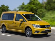 VW debuts bargain Caddy camper