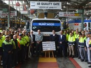 90,000th Iveco ACCO rolls off production line