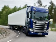 Scania scores quadrella of Green Truck awards