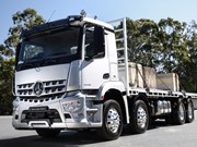 BTS21: Mercedes-Benz rigid range receives new safety features