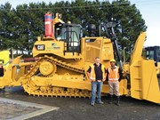 Product feature: Cat D9T bulldozer