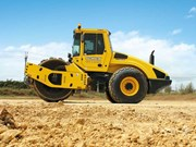 Schick Contracting & Cartage's BOMAG gear