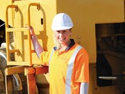 """Just one of the blokes"" 