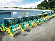 New Ammann Rollers available at Hirepool
