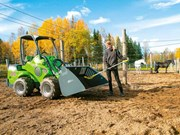 Special feature: Avant all-electric wheel loaders