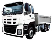 Isuzu expands tipper range