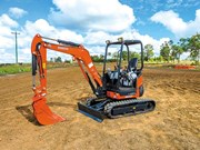 Product feature: Kubota U27-4 and KX033-4 mini excavators