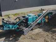 Lincom's new compact mobile impact recirculating crusher