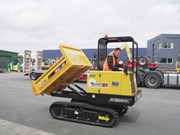Product feature: Morooka small dumpers