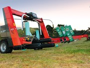 Kuhn SW 4004 bale wrapper