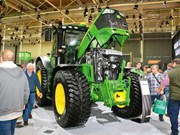 John Deere celebrates a century in the tractor business
