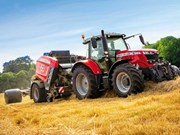 Massey Ferguson hay and forage range extended