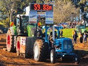 Video: Central Tractor Pull 2019