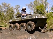 Video: Argo Frontier Amphibian