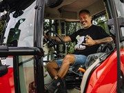 Tractor Trek sends message of hope to rural communities