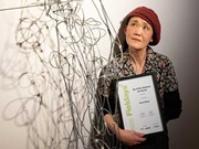 Space Cow wins $5000 Fieldays No.8 Wire National Art Award