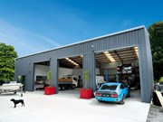 Cover story: Alpine Buildings shed