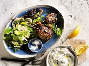 Lamb skewers with cumin and chilli