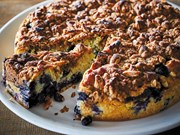 Blueberry Muffin Cake Recipe