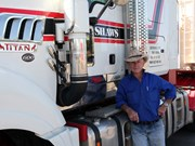 Tim Parker clocks more than 50 years in cattle trucking