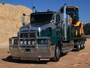 David Grima's show-winning Kenworth T401