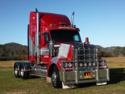 Driving McPhersons Interstate Transport's Kenworth T610 SAR