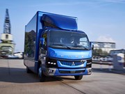 Fuso's all-electric eCanter now in production