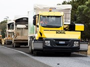 Boral and Iveco unite for advanced road construction truck
