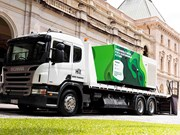 Discarded tyres fuel renewable diesel trial