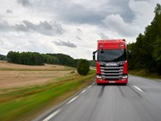 Scania R450 scores Green Truck hat trick