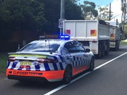 Statistics released from NSW Police operation targeting trucks