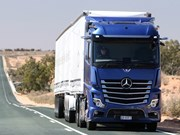 Autonomous Actros to go on test around Australia