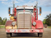 Oregon Artifact - Charlie Borg's 1958 Kenworth CC925C