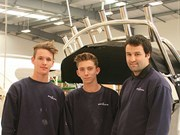 School students building careers at Rayglass