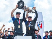 New Zealand lifts the America's Cup again