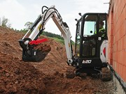 Bobcat E20 compact excavator arrives Down Under