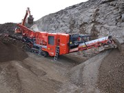 Terex Finlay boosts production with I-140 crusher