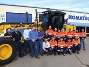 Komatsu expands in Central Queensland