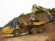 Cat powers up new C2 articulated dump trucks