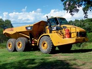 Review: Used Cat 740 articulated dump truck